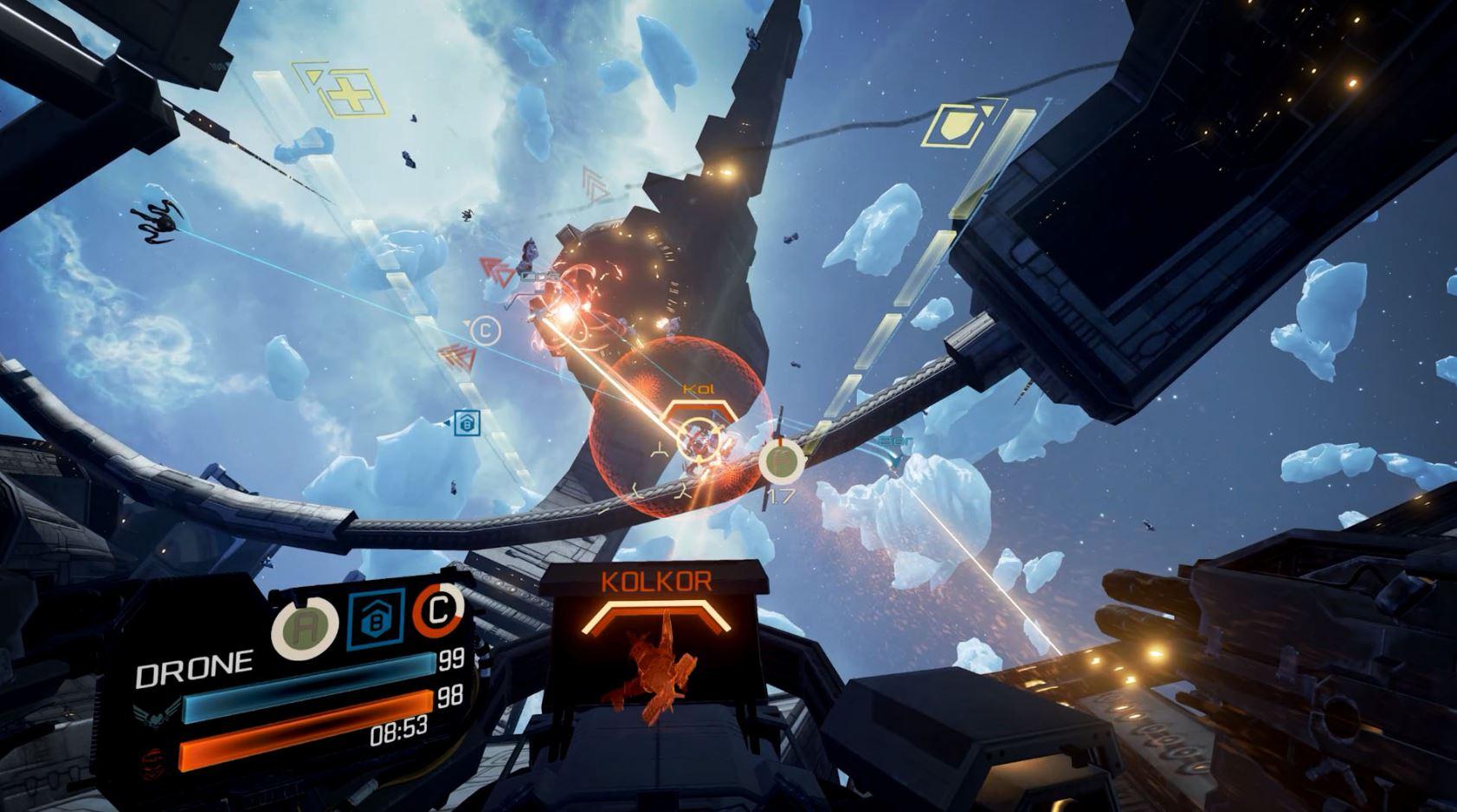 『EVE:Valkyrie』PSVRゲームプレイ映像