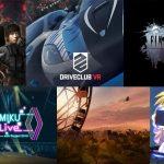 2016年11月発売予定のPSVR対応・専用ゲームとコンテンツまとめ