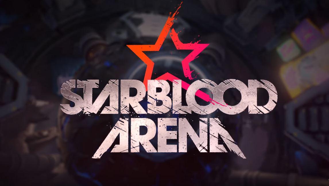 『Starblood Arena』タイトルロゴ