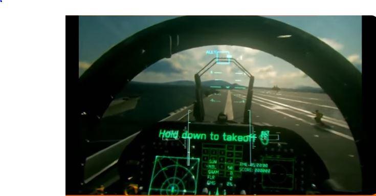 『エースコンバット7 スカイズ・アンノウン』PSVRモードによるゲームプレイ映像