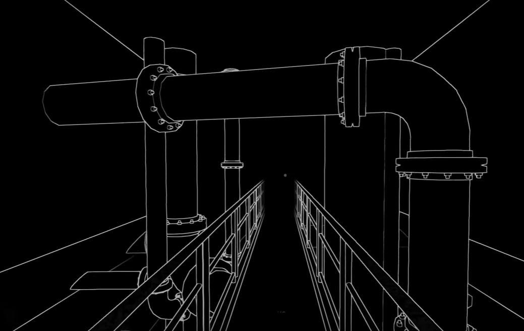 STIFLIED VR ゲーム画面