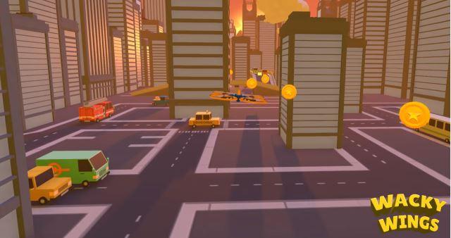 『Wacky Wings』ゲームプレイ映像