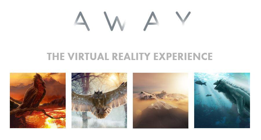 『AWAY』タイトルロゴ