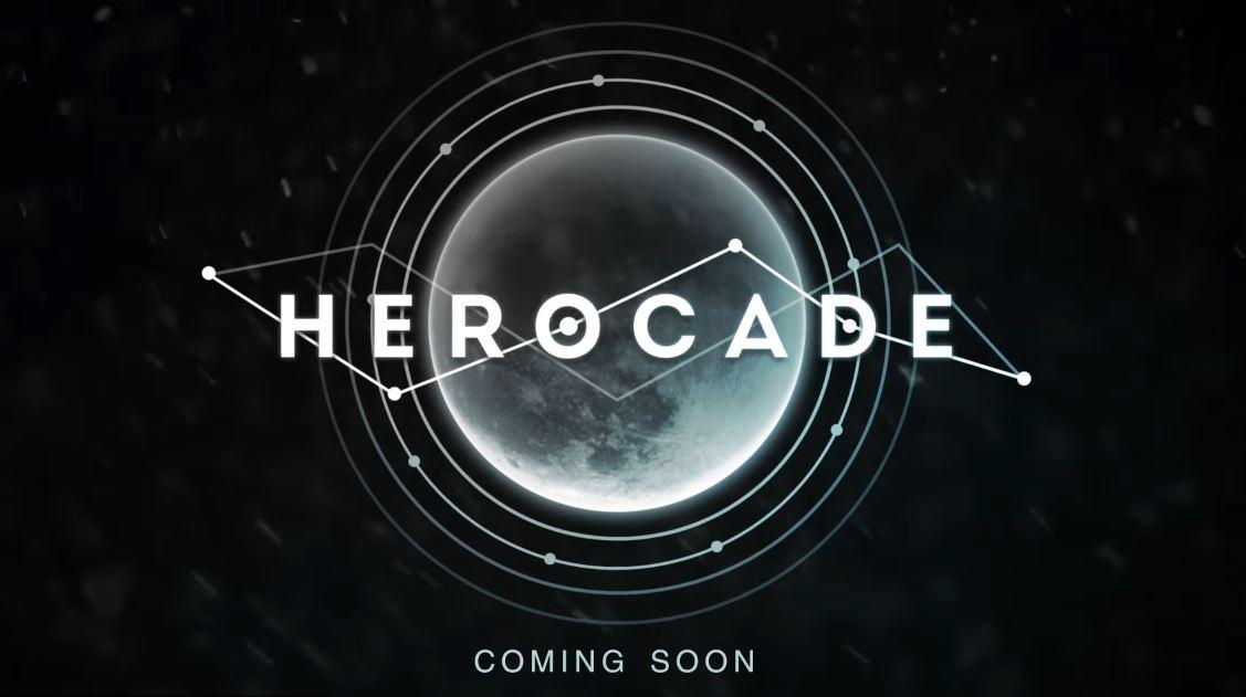 『HEROCADE』タイトルロゴ