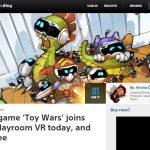 『THE PLAYROOM VR』の新ゲーム「トイウォーズ」日本ストアでも無料配信開始!