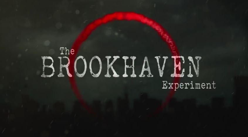『The Brookhaven Experiment』タイトルロゴ