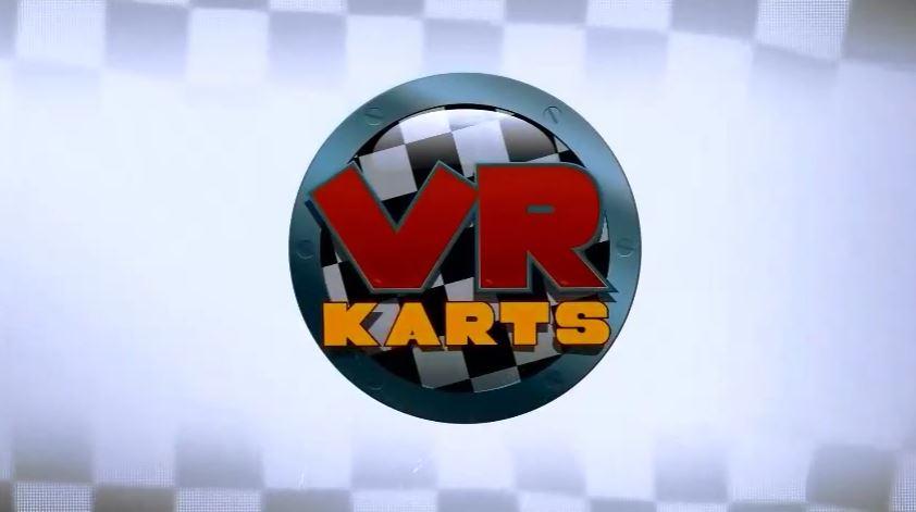 『VR Karts』タイトルロゴ